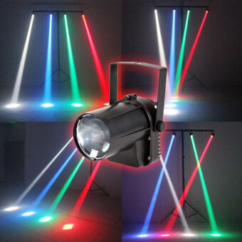 Harga 3W RGBW colorful Pin Spot 3W Cree LED Disco Lights for mirror ball club DJ - Intl
