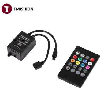 Music Controller 20keys IR Remote Sound Sensor Controllers for RGB Strip Lights - intl