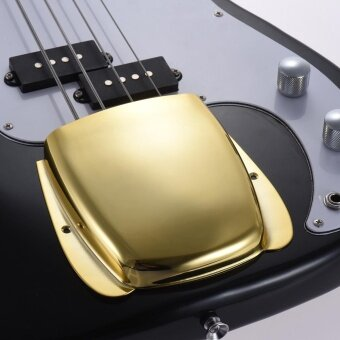 Harga Steel Bridge Cover Protector for 4-string Jazz Bass Electric Bass Guitar Part Replacement Gold - intl