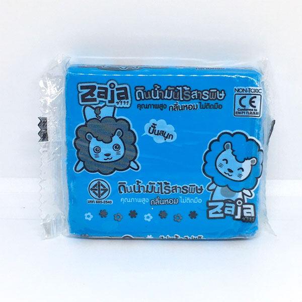 Zaja ดินน้ำมัน ดินน้ำมันไร้สารพิษ ปลอดสารพิษ 100 กรัม แบบก้อน เลือกสีได้ ของเล่น เสริมทักษะ สำหรับเด็ก สีสด Non Toxic Clay 100g Skill Toy Children Muscle Training