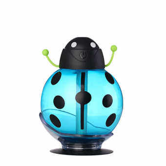 Harga Nanum HB-005 260mL Beetle Shaped Mist Humidifier Air Purifier Aroma Therapy (Blue) - intl