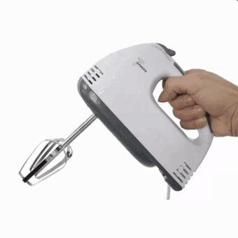 Harga meet Best to Buy BEST HS Electric 7 Speed Egg Beater Flour Mixer Mini Electric Hand Held Mixer เครื่องผสมแป้งตีไข่