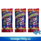 อาหารปลา Omega 100g x3ซอง
