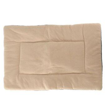 Harga Dog Puppy Cat Soft Warm Sleep Mat Fleece Cushion Small Large Pet Blanket Bed M - intl