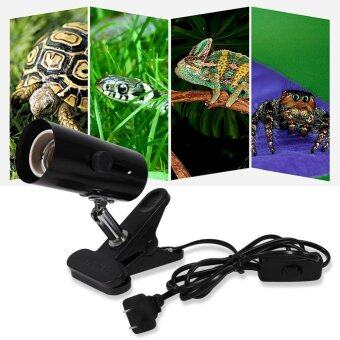 Justgogo Clamp Lamp Fixture for Reptiles. Adjustable Habitat Lighting & Heat Lamps Holder Stand