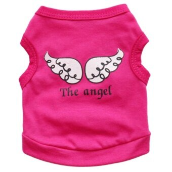 Pet Clothes Summer The Angel Vest Cotton Pet Costume Small Dog CatSleeveless T shirt - intl