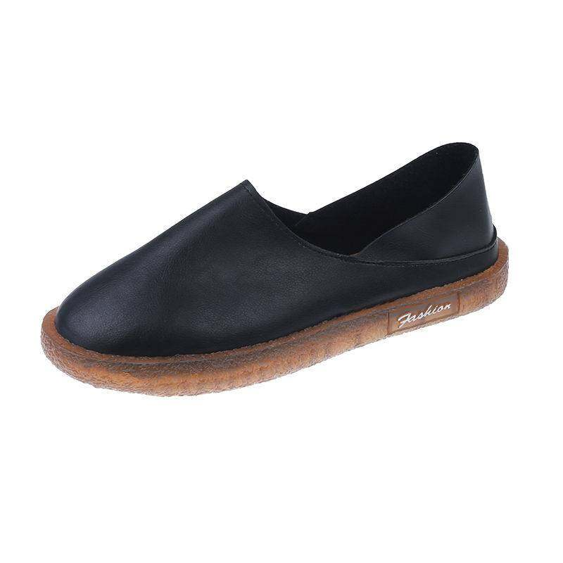 รองเท้าคัชชู Meri 3สี รอบตัวหนัง Pu พื้นซิลิโคน น้ำหนักเบา ใส่สบาย H88.