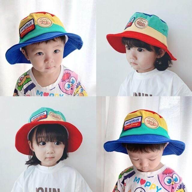 [พร้อมส่ง] หมวกบักเก็ตเด็ก Anpanman.