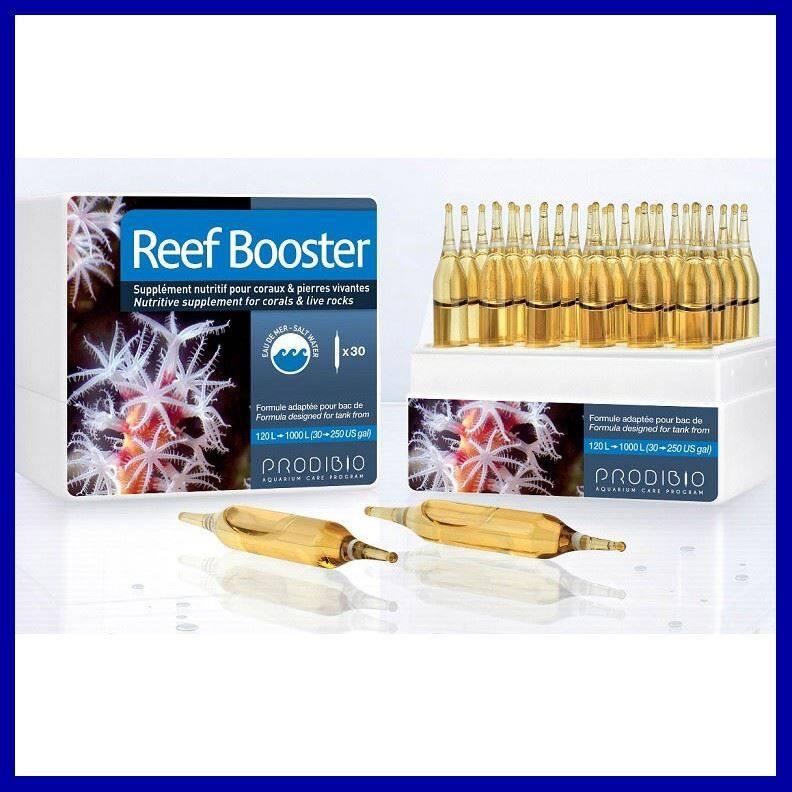 [จัดส่งฟรี] Prodibio Reef Booster ยกกล่อง (อาหารสำหรับก้นตู้ ปะการัง ดอกไม้ทะเล และปลาขนาดเล็ก) คุณภาพดี ส่งไว ส่งทุกวัน เก็บเงินปลายทาง