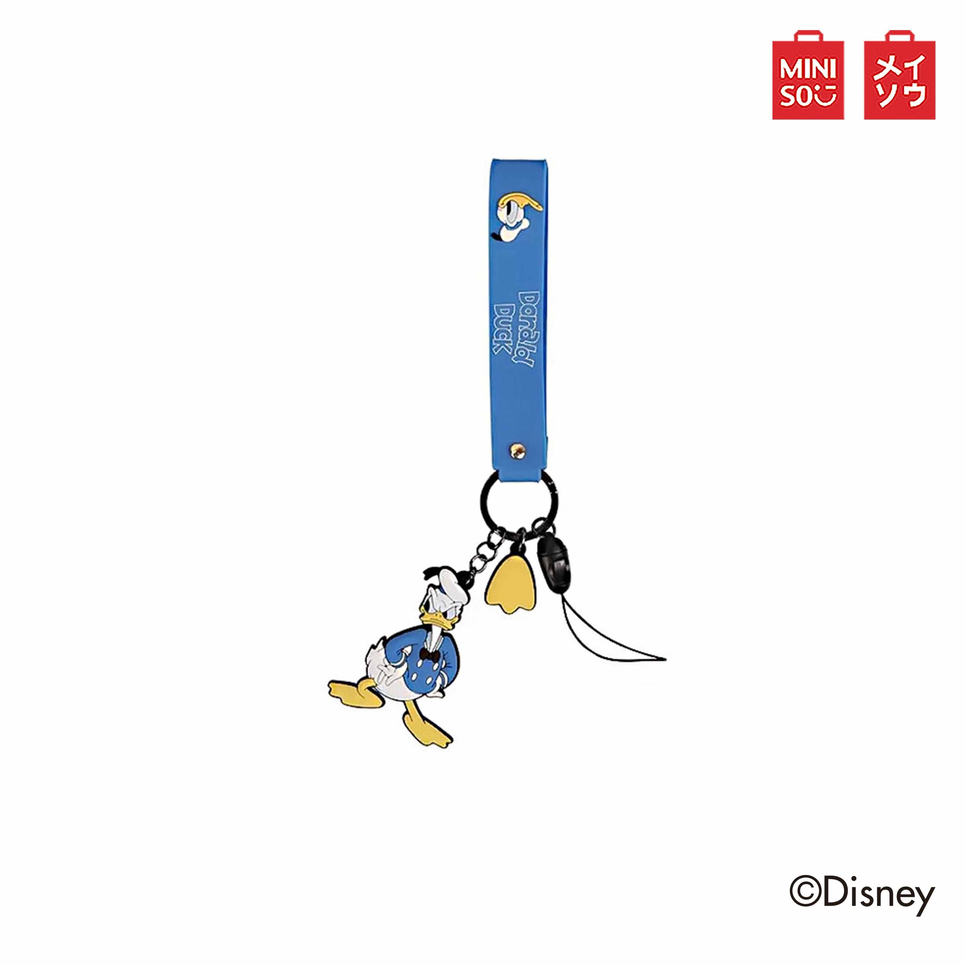 MINISO ที่ห้อยกระเป๋า โทรศัพท์มือถือ Mickey Mouse Family Collection