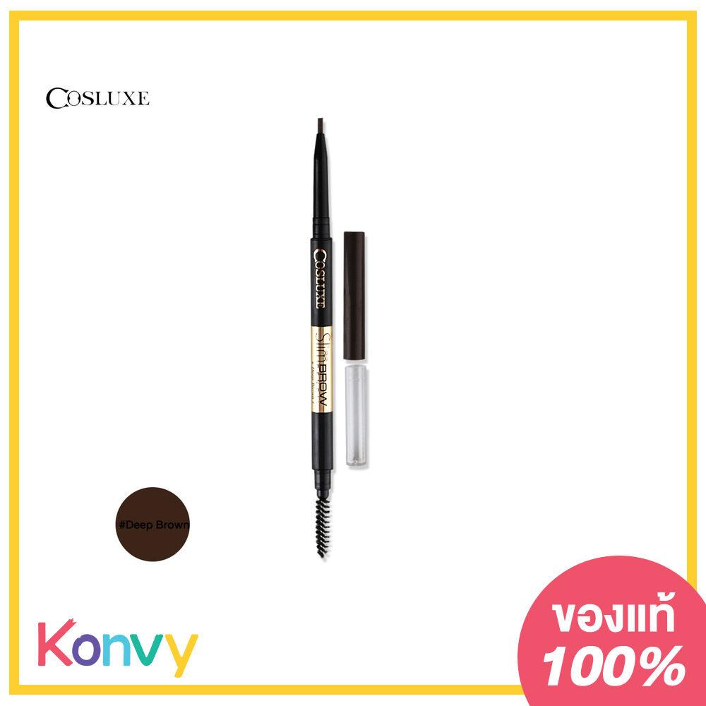 Cosluxe Slimbrow Pencil Deep Brown.