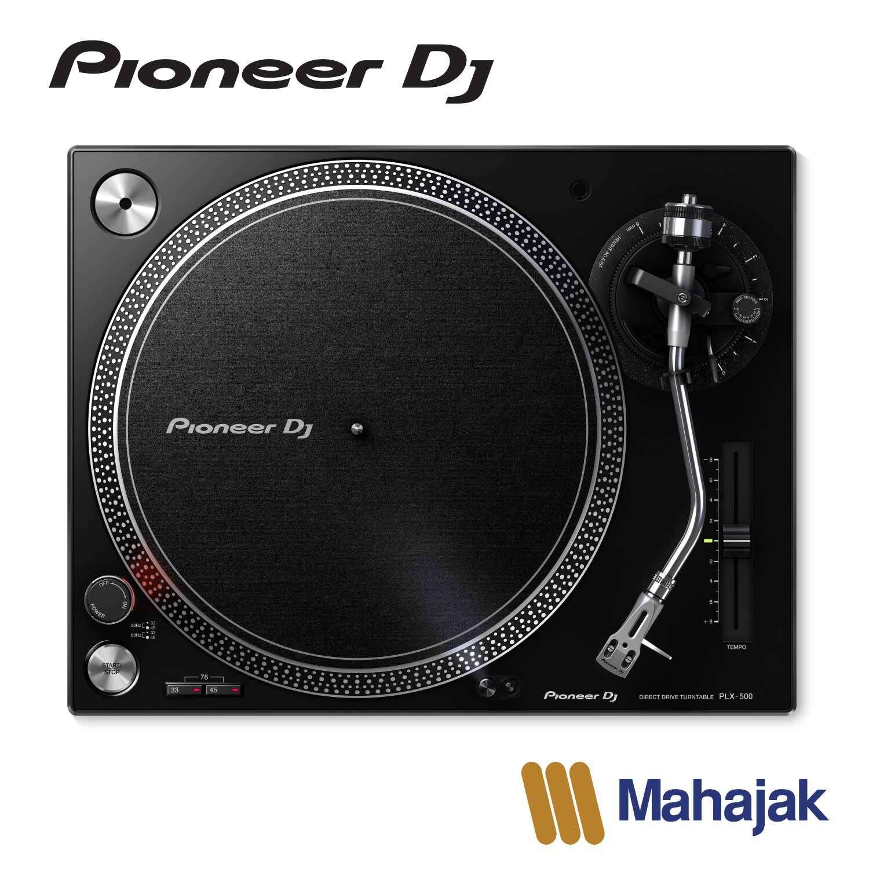 Pioneer Dj Plx-500 | High-Torque, Direct Drive Turntable.