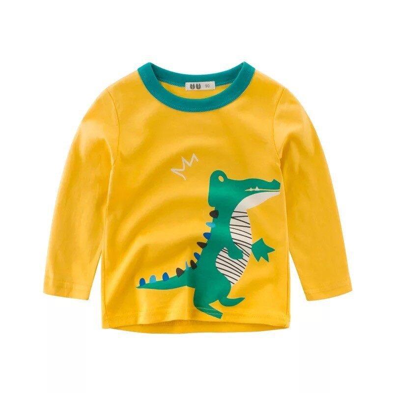 เสื้อแขนยาวเด็ก ไซส์ 90-130 (1-6 ขวบ)