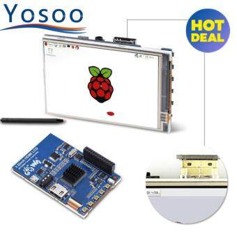 1080P IPS 60fps 3.5 inch HD LCD Screen Display for Raspberry Pi +Black Acrylic Case - intl