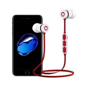 Bluetooth Wireless In-Ear Stereo Earphones Earbuds WaterproofSports Headphones Headsets For iPhone - intl