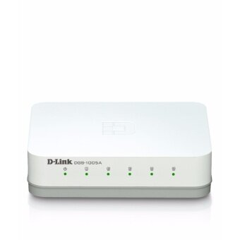 D-Link Fast Ethernet Switch 5 Port 10/1000 Mbps DGS-1005A