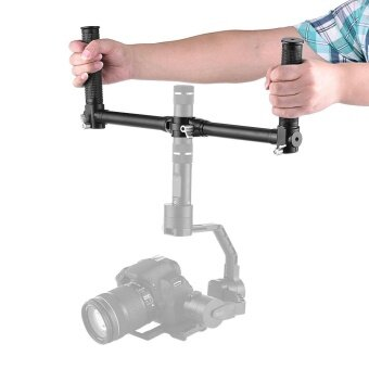 Dual Handheld Grip Bracket Kit Gimbal Extended Handle for ZhiyunCrane V2 Crane-M for FeiyuTech MG Lite MG V2 Handheld GimbalStabilizers - intl