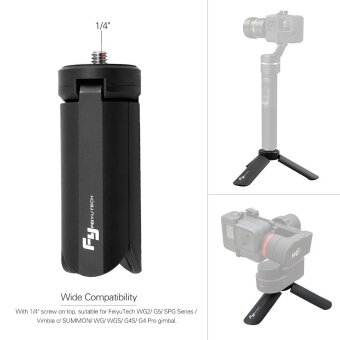 FeiyuTech Portable Foldable Time-Lapse Photography Bracket Mini Gimbal Tripod for FeiyuTech WG2 G5 SPG Series Vimble c SUMMON WG WGS G4S G4 Pro Gimbal - intl