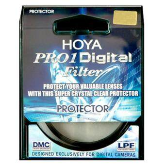 HOYA PRO1D 43 mm Protector DIGITAL Clear Filter DMC LPF - Black