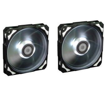 ID-COOLING PL-12025-W COOLING FAN (WHITE LED) x 2pcs