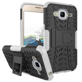 Harga Hybrid Case Stand Shockproof Cover For Samsung Galaxy J2(2016) White - intl