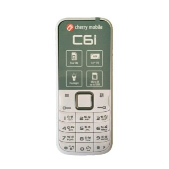 Harga Cherry Mobile C6i 1.77'' Dual Sim 2G (Black/White)