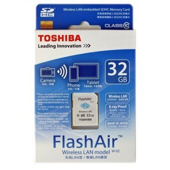 Harga Toshiba 32GB FlashAir SD Card with Wifi