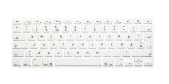 "Harga HRH Norwegian Silicone EU Keyboard Cover Skin for Apple Macbook Pro Retina 13""15""17""MAC Air 13 (White) - Intl"