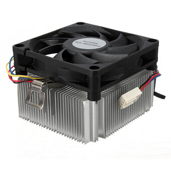 Harga VR_Tech New CPU Cooler Cooling Fan And Heatsink for AMD Socket AM2 AM3 1A02C3W00 Up to 95W (White) - intl