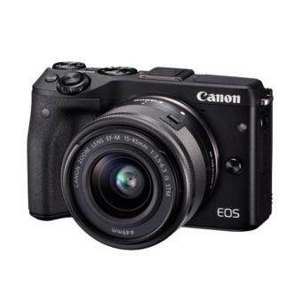 Harga Canon EOS M3 Kit (EF-M 15-45mm STM) Black