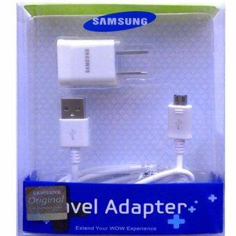Harga Samsung ชาร์ต+สาย Samsung Galaxy J1/J2/J5/J7 Micro USB Data Cable + Home Wall Charger (สีขาว)