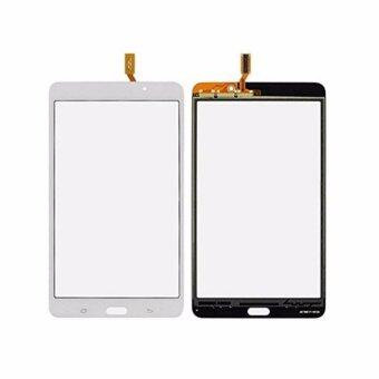 Harga For Samsung Galaxy Tab 3 7.0 T211 SM-T211 3G White Outter Digitizer Touch Screen Panel Sensor Lens Glass free tools & Frame adhesive - intl