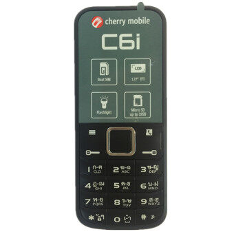 Harga Cherry Mobile C6i 1.77'' Dual Sim 2G (Black/Rose)