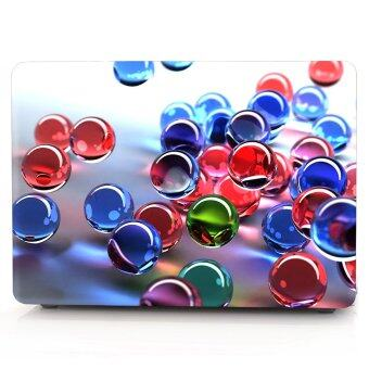 "Harga HRH Colorful 3D Glass Ball Laptop Body Shell Protective Hard Case For MacBook Air 11"" 11.6 inch (Models: A1370 and A1465) - Intl"