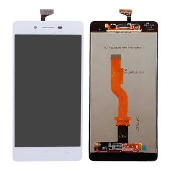 Harga For OPPO A33 LCD Display Touch Screen with Digitizer Full Assembly Replacement, White - intl