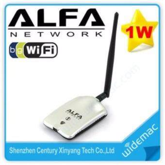 Harga ALFA AWUS036H Network High Power USB Wireless Adapter 1000mW Alfa Network Hi Speed Adapter