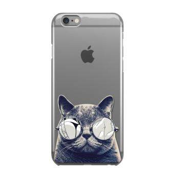 Harga AFTERSHOCK TPU Case iPhone6 /6s (เคสใสพิมพ์ลาย Black Cat) / Thin 0.33 mm