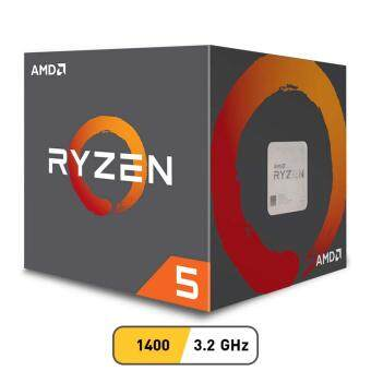 Harga AMD CPU Ryzen 5 1400 3.2 GHz 4C/8T AM4