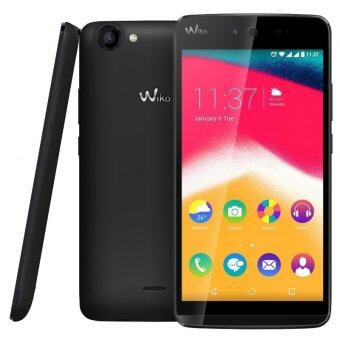 "Harga REFURBISHED WIKO Rainbow Jam 5"" HD QC1.3 16GB/1GB 8MP/5MP (Black)"