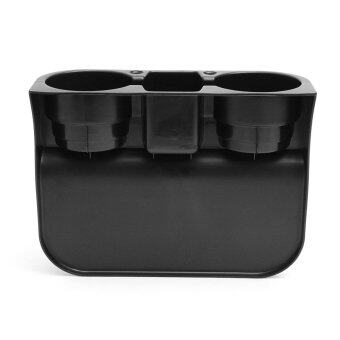 Harga Seat Seam Wedge Car Drink Cup Holder Travel Drink Mount Stand Storage For Benz Black - intl