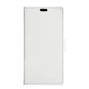 Harga Wallet Leather Mobile Phone Case Stand for Motorola Moto X 2017/Moto G5 Plus - White - intl