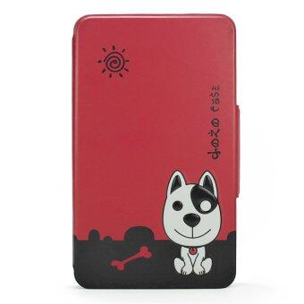 Harga Siam Tablet Shop case for True Smart Tab 7 รุ่น Dozo Dog (สีแดง)
