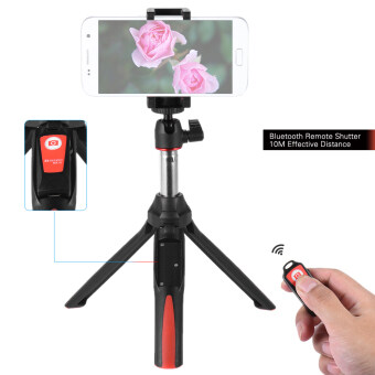 Harga Benro MK10 Handheld Extendable Mini Tripod Selfie Stick with Bluetooth Remote Control Shutter for IOS iPhone 5s/6s/6s Plus & Android Smartphone Cellphone for Gopro - intl