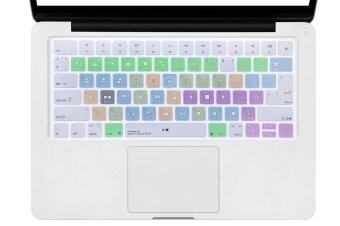 Harga HRH Apple Final Cut Pro X Shortcuts Hot keys Design Silicone Keyboard Skin Cover for Apple Magic Keyboard (MLA22LL/A) - Intl