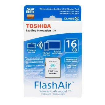 Harga Toshiba 16GB FlashAir SD Card with Wifi