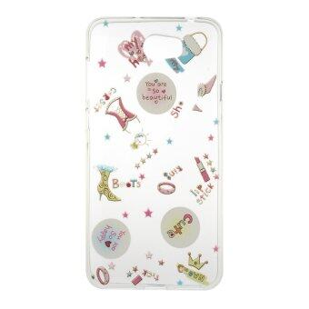 Harga Transparent Slim TPU Soft Back Case Cover For Huawei Y5II / Huawei Y5 2 (You are so beautiful)