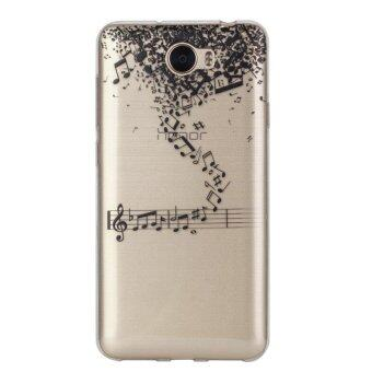 Harga Music TPU Soft Gasbag Back Case Cover For Huawei Y5 II/Huawei Y6 II Compact Case - intl