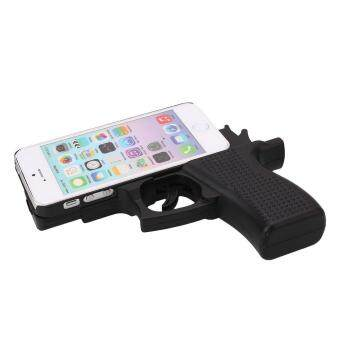 Harga Cool Gun Model Cover Skin Shell Cases For iPhone5/5S iPhone6/6S iPhone6/6S Plus