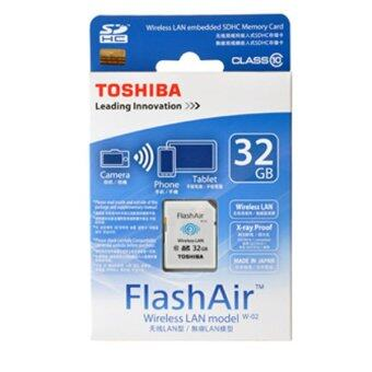 Harga Toshiba FlashAir Wireless SD Card 32GB
