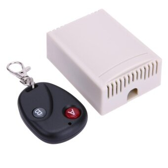 Harga Practical Cross Type 2CH 433MHz Remote Control Switch with Remote Control - intl
